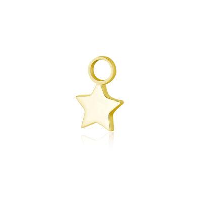 brandgioielli_brand_gioielli_acciaio_charm_ stella_oro