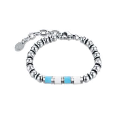 brandgioielli_brand_gioielli_acciaio_bracciale_smalto_bianco_azzurro